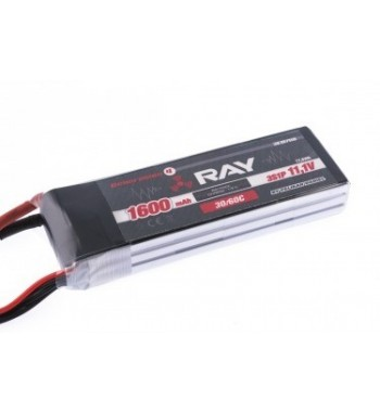 Bateria LiPo RAY 1600 mAh 11.1v 30/60C Air Pack