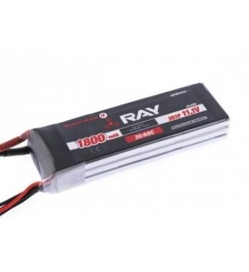 Bateria LiPo RAY 1800 mAh 11.1v 30/60C Air Pack