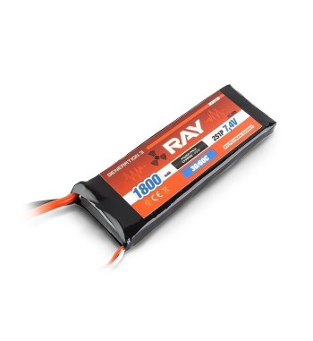 Bateria LiPo RAY 1800 mAh 7.4v 30/60C Air Pack