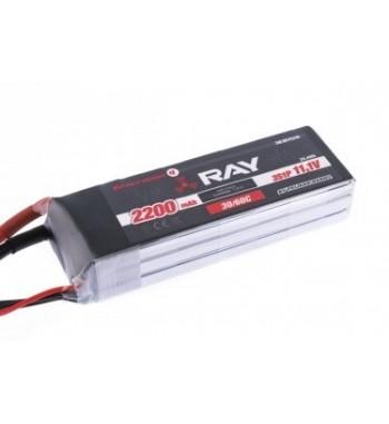 Bateria LiPo RAY 2200 mAh 7.4v 30/60C Air Pack