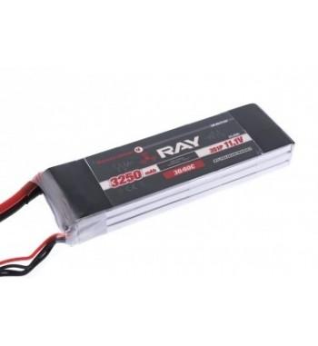 Bateria LiPo RAY 3250 mAh 11.1v 30/60C Air Pack
