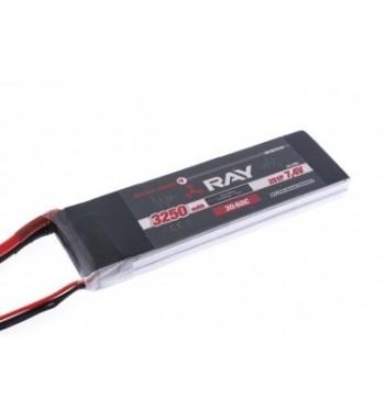 Bateria LiPo RAY 3250 mAh 7.4v 30/60C Air Pack