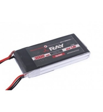 Bateria LiPo RAY 3000 mAh 7.4v 30/60C Air Pack
