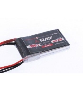 Bateria LiPo Ray 350 mAh 7.4v 30/60C Air Pack