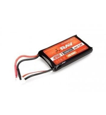 Bateria LiPo Ray 450 mAh 7.4v 30/60C Air Pack