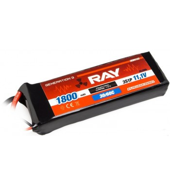 G3 - LC RAY LI-POL 1800 mAh/11.1 30/60C Air Pack