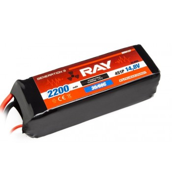 G3 - LC RAY LI-POL 2200 mAh/14.8 30/60C Air Pack