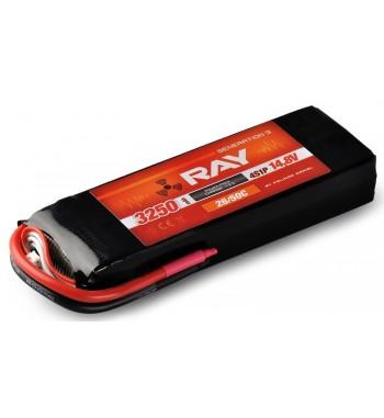 G3 RAY LI-POL 3250 mAh/14.8 26/50C Air Pack