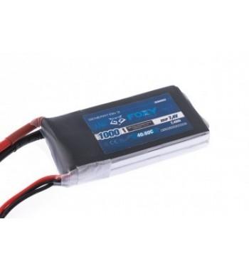 Bateria LiPo FOXY 1000 mAh 7.4v 40/80C 7.4Wh Air Pack