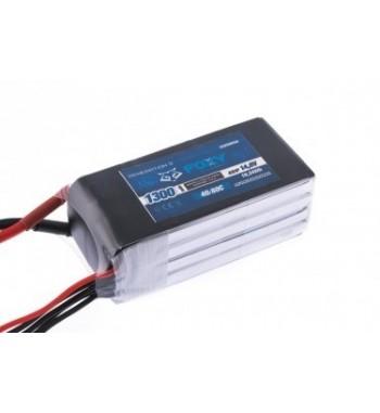Bateria LiPo FOXY 1300 mAh 14.8v 40/80C 19.24Wh Air Pack