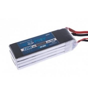 Bateria LiPo FOXY 2200 mAh 14.8v 40/80C 32.6Wh Air Pack
