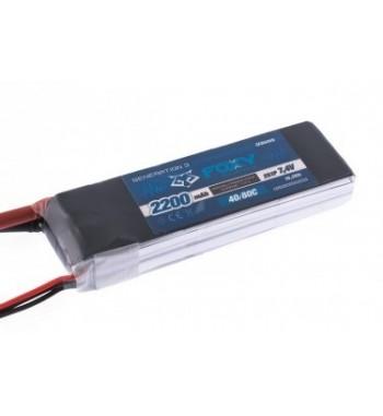 Bateria LiPo FOXY 2200 mAh 7.4v 40/80C 16.3Wh Air Pack