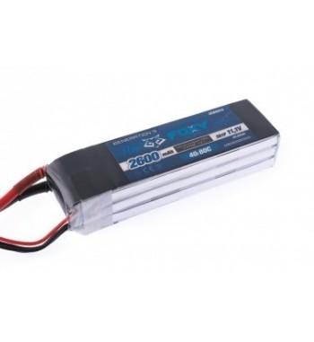 Bateria LiPo FOXY 2600 mAh 11.1v 40/80C 28.9Wh Air Pack