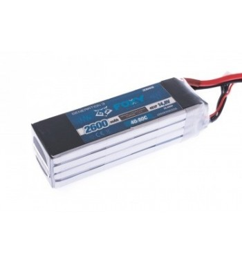 Bateria LiPo FOXY 2600 mAh 14.8v 40/80C 38.5Wh Air Pack