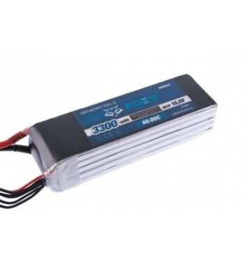 Bateria LiPo FOXY 3300 mAh 18.5v 40/80C 61.1Wh Air Pack