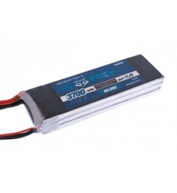 Bateria LiPo FOXY 3700 mAh 11.1v 40/80C 41.1Wh Air Pack