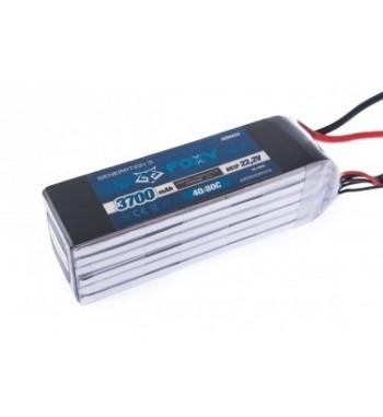 Bateria LiPo FOXY 3700 mAh 22.2v 40/80C 82.14Wh Air Pack