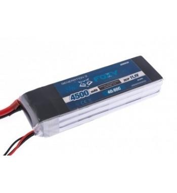 Bateria LiPo FOXY 4500 mAh 11.1v 40/80C 50.0Wh Air Pack