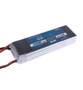 Bateria LiPo FOXY 4500 mAh 14.8v 40/80C 66.6Wh Air Pack