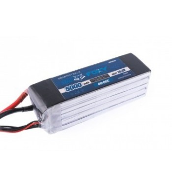 Bateria LiPo FOXY 5000 mAh 18.5v 40/80C 92.5Wh Air Pack