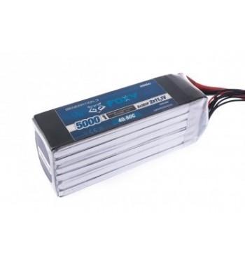 Bateria LiPo FOXY 5000 mAh 22.2v 40/80C 111Wh Air Pack