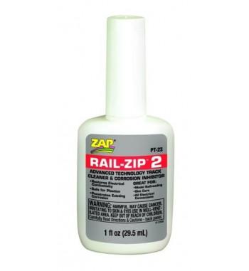 Liquido limpiador de railes RAIL-ZIP para trenes 30 ml