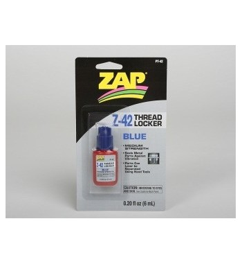 Fijatornillos medio (azul) ZAP 6 ml