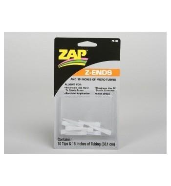 Puntas ZAP para cianocrilato x10 uds.