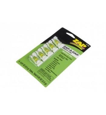 Cianocrilato medio ZAP A GAP 0.5 gramos x5 uds.