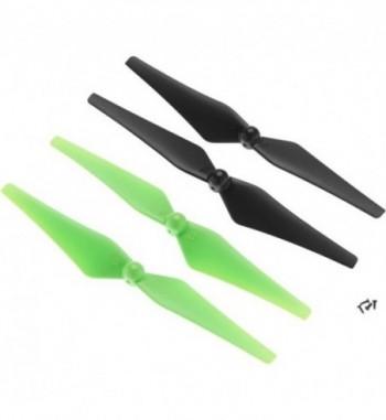 Helices para Dromida VISTA UAV - Verde/Negro