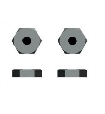 6433 Hexagonos de llanta x4 uds.