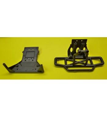 6102 Paragolpes y placa de chasis 3021 - 3031