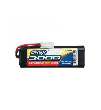 Bateria NiMH 3000mAh 7.2V Tamiya Sub-C - DuraTrax Onyx