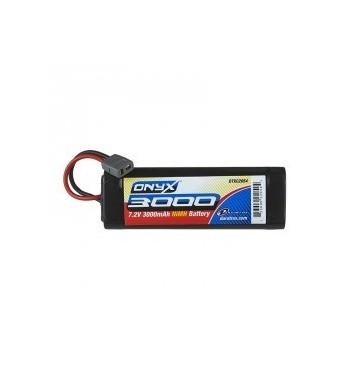 Bateria NiMH 3000mAh 7.2V Traxxas Sub-C - DuraTrax Onyx