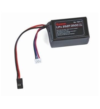 Bateria Graupner LiPo 2500mAh MX-20 MX-16 MX-12