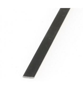 Lamina de fibra de carbono 1.0x4.0x1000mm