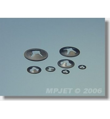 Arandela de silicona 1.5mm MP-JET