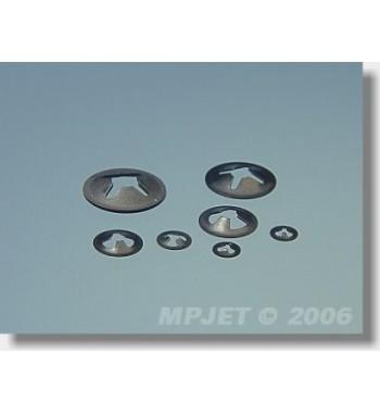 Arandela de silicona 1mm MP-JET