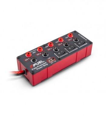 Regleta con 5 puertos Power Strip eFuel 6-24V + Cargadores USB