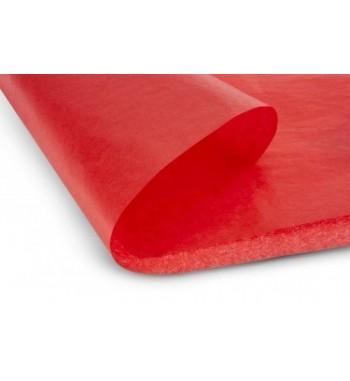 Papel de revestimiento rojo mate 51x76 cm