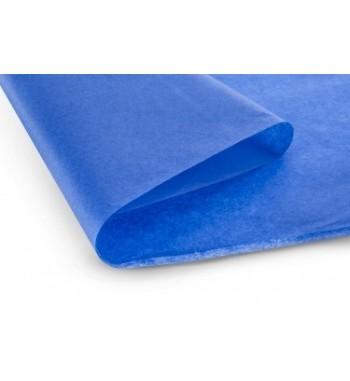Papel de revestimiento azul mate 51x76 cm