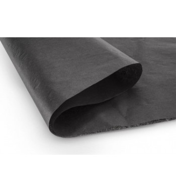 Papel de revestimiento negro mate 51x76 cm