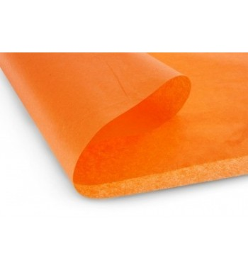 Papel de revestimiento naranja mate 51x76 cm