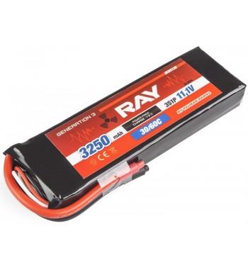 G3 - LC RAY LI-POL 3250 mAh/11.1 30/60C Air Pack