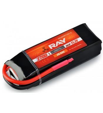 G3 - LC RAY LI-POL 2700 mAh/11.1 30/60C Air Pack