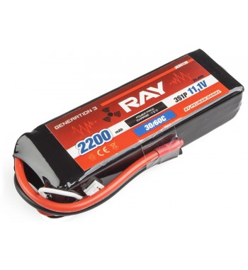 G3 - LC RAY LI-POL 2200 mAh/11.1 30/60C Air Pack