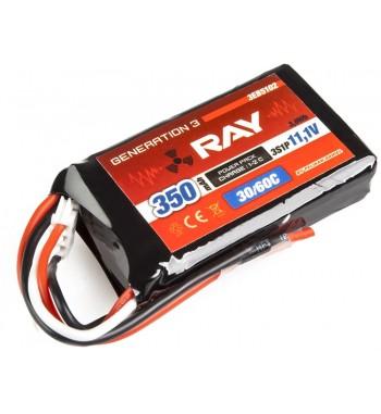 G3 RAY LI-POL 350 mAh/11.1 26/50C Air Pack