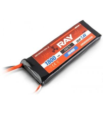 G3 LC - RAY LI-POL 1800 mAh/7.4 30/60C Air Pack