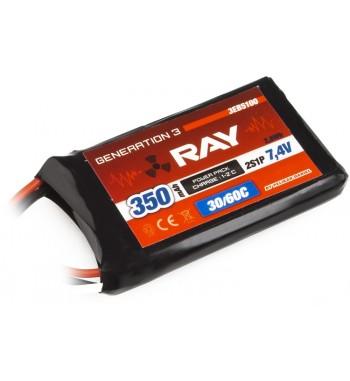 G3 RAY LI-POL 350 mAh/7.4 30/60C Air Pack