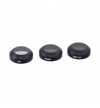 Set de 3 filtros PolarPro para DJI Mavic Pro